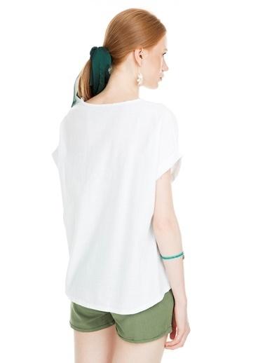 Lela Bluz Beyaz